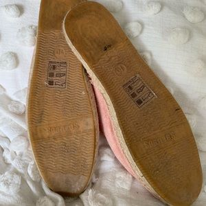 Soludos Pink mules size 10